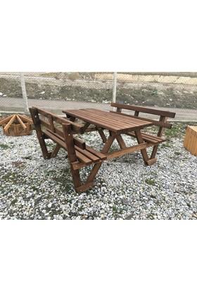 Garden Sırt Dayamalı Piknik Masası 8 kişilik