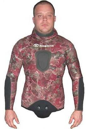 Abalone Kamuflaj Dalış Elbisesi Ceketi (5 mm)