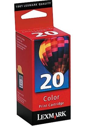 Lexmark 20 Renkli Kartuş