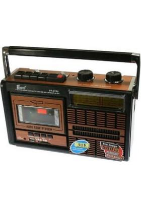 Hobimtek Fp 319 U Usb+Fm Radyo+Kaset Çalar