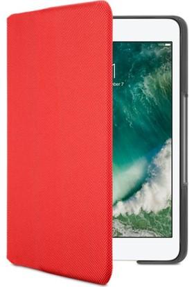 Logitech Ipad Mini, Mini 2 ve 3 için Kanvas Kırmızı Klavyeli Kılıf 920-007630
