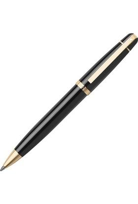 Sheaffer 9334-2 Shf 500 Siyah Parlak Gövde Ve Kapak, Altın Rengi Klips