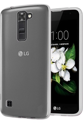 Microsonic LG K7 Kılıf Transparent Soft
