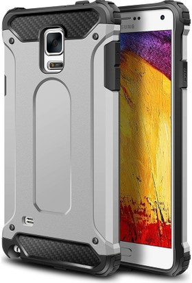 Microsonic Samsung Galaxy Note 4 Kılıf Rugged Armor