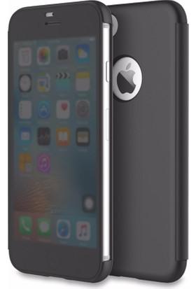 Rock DR.V Apple iPhone 7 Kılıf invisible Smart UI Transparent Siyah