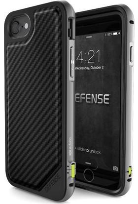 X-Doria Apple iPhone 7 Kılıf Defense Lux Carbon Siyah