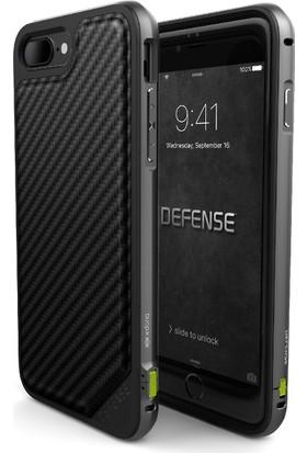 X-Doria Apple iPhone 7 Plus Kılıf Defense Lux Carbon Siyah
