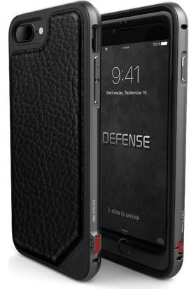X-Doria Apple iPhone 7 Plus Kılıf Defense Lux Leather Siyah