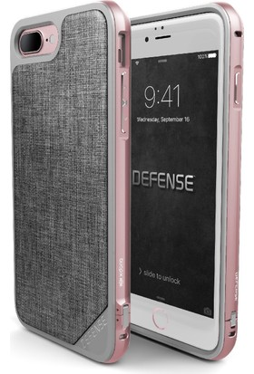X-Doria Apple iPhone 7 Plus Kılıf Defense Lux Gri