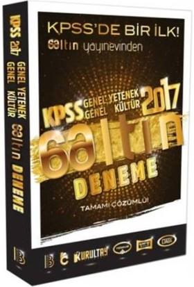 Benim Hocam Yayınları Kpss 2017 Gy-Gk Tamamı Çözümlü 6 Altın Deneme