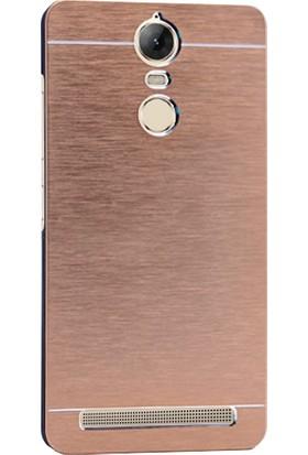 Microsonic Lenovo K5 Note Kılıf Hybrid Metal
