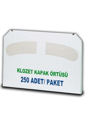 Wex Klozet Kapak Örtüsü 250 Adet(5 Paket)