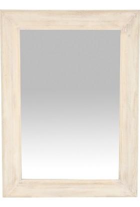 Yargıcı Ahşap Ayna 81 x 111 Cm