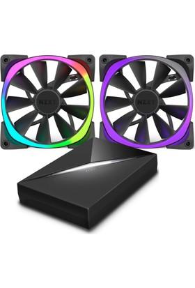 NZXT Aer RGB & HUE+ 140mm RGB Kasa Fanı - RF-AR140-C1