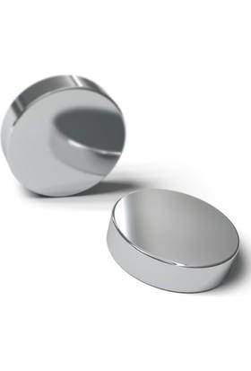 Neostrong Süper Güçlü Neodyum Mıknatıs Disk D40X10 Mm (Tekli Paket)