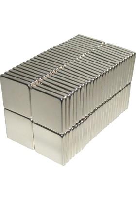 Neostrong Güçlü Neodyum Mıknatıs Kare 15X15X1 Mm (20'Li Paket)