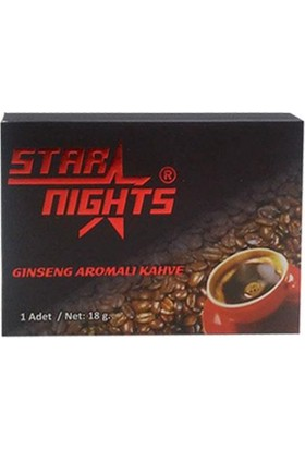 Star Nightmuck Star Nights Ginseng Aromalı Kahve