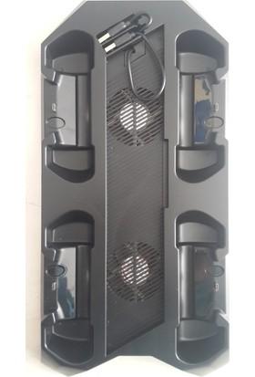 Starx Sony Ps4 Şarj Standı Fanlı 4'lü