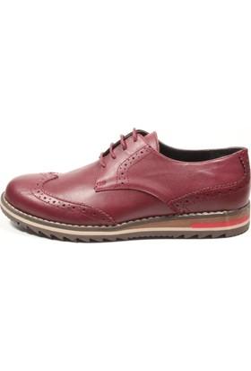 Pablo 233-146 Bordo Erkek Ayakkabı