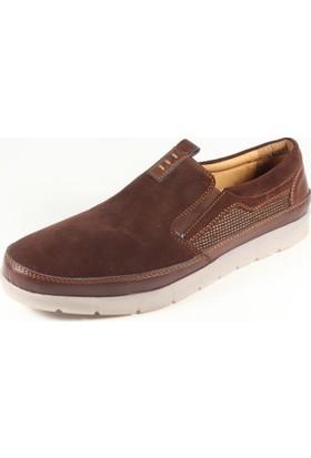 Commodore 267-223 Kahverengi Cilt Erkek Ayakkabı
