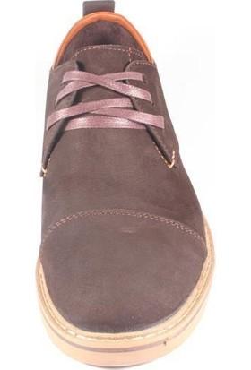 Commodore 218-81-1002-53 Kahverengi Nubuk Erkek Ayakkabı
