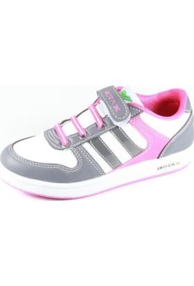 Rotax 211-55 Beyaz Gri Pembe Kız Çocuk Ayakkabı
