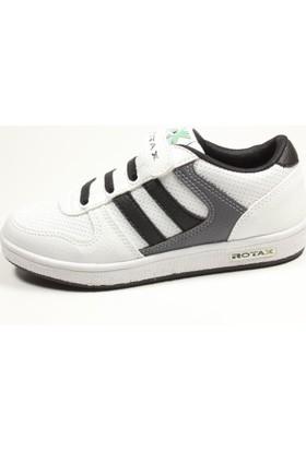 Rotax 211-55 Beyaz Gri Siyah Çocuk Ayakkabı