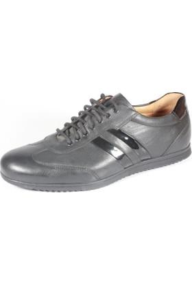 Pablo 212-2013-8 Siyah Erkek Ayakkabı