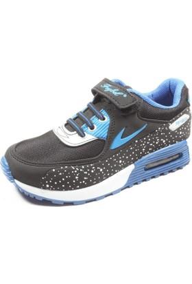 Feybıl Siyah Sax Çocuk Spor Ayakkabı