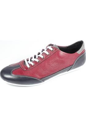 Commodore 214-41210-2 Bordo Erkek Ayakkabı