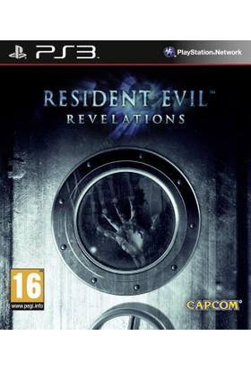 Capcom Resident Evil Revelations Ps3