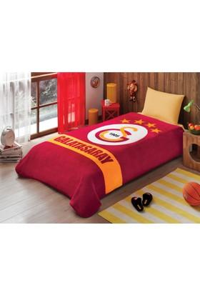Taç Lisanslı Galatasaray Sarı Kırmızı Battaniye