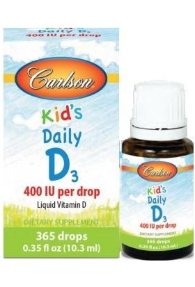 Carlson Kids Daily D3 Drops Damla 10.3Ml