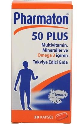 Pharmaton 50 Plus 30 Kapsül