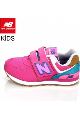 New Balance Kv574t4y Kids Pre-School Pink Blue Ayakkabı