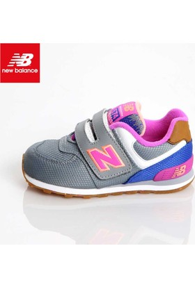 New Balance Kg574e9i Kids İnfant Grey Pink Ayakkabı
