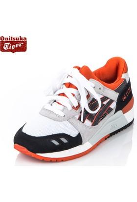 Asics Y02361/ Gel-Lyte III / White/Black Spor Ayakkabı
