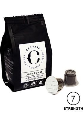 Cru Kafe %100 Organik Nespresso® Uyumlu Light Roast Kapsül Kahve, 12 kapsül