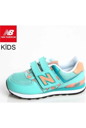 New Balance Kv574tcy Kids Pre-School Coral Teal Ayakkabı