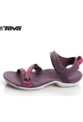 Teva Verra 01W01y150002 Modern Stripes Purple 1006263 Sandalet