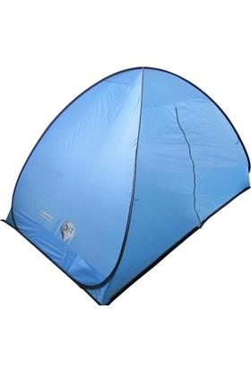 Çadır Pop - Up 2 Kişi :230X140X125 Cm A. Mavi - Siyah