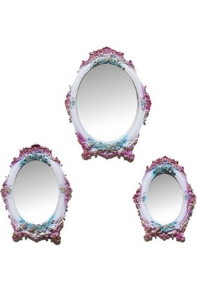 Decotime Ayaklı Ayna Takımı