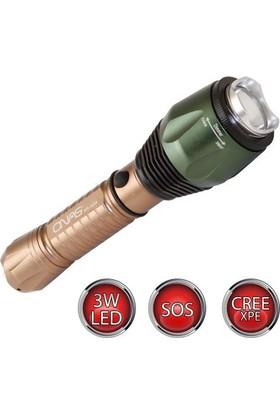 Hiper Onas Ns-604 3Watt Led'Li Şarjlı Acil Durum El Feneri