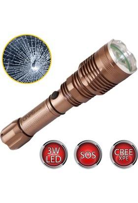 Hiper Onas Ns-606 3Watt Led'Li Şarjlı Acil Durum El Feneri