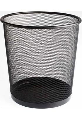 Bigpoint 410 Metal Perfore Çöp Kovası Renk - Gümüş