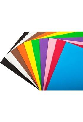 Bigpoint Fon Kartonu 50 x 70 Cm Karışık Renkler 10'lu Paket