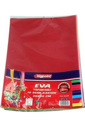 Bigpoint Eva Yapışkanlı 20 x 30 Karışık 10 Renk