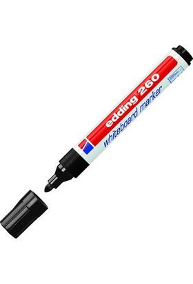 Edding Beyaz Tahta Kalemi E-260 Siyah