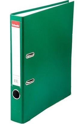 Esselte Le9945 Ekonomik Plastik Dar Klasör Renk - Yeşil