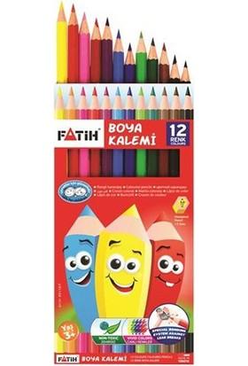 Fatih 12 Renk Tam Boy Boyakalemi